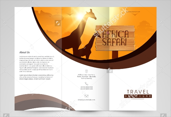 Travel Brochure Template   Download In Vector Eps Psd