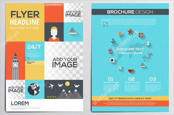 Travel Brochure Template 22 Download in Vector EPS PSD – Vacation Brochure Template