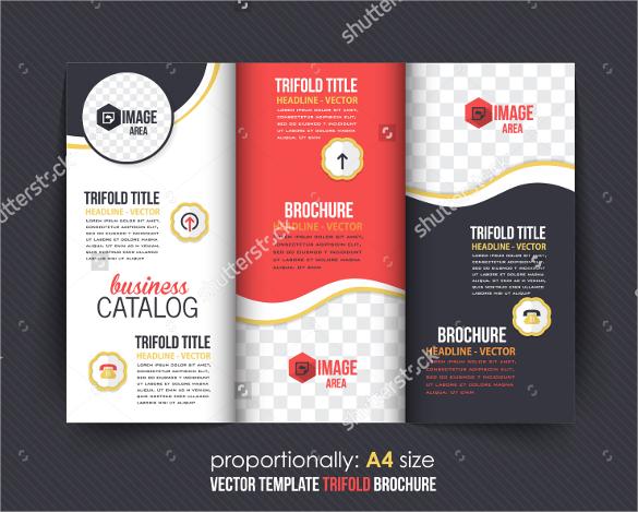 A4 Tri Fold Brochure Template Datariouruguay