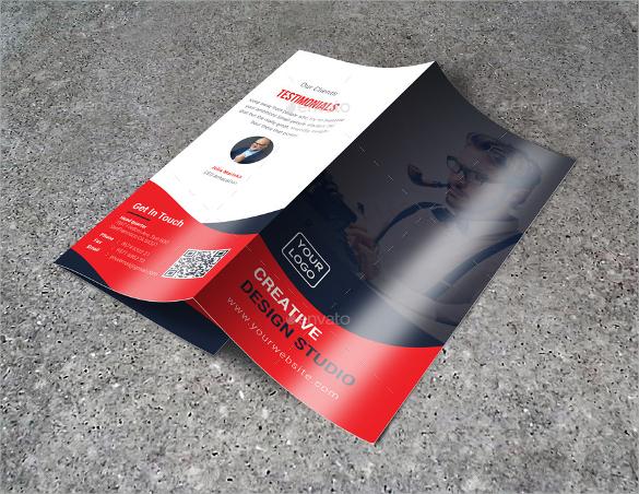 business tri fold brochure download