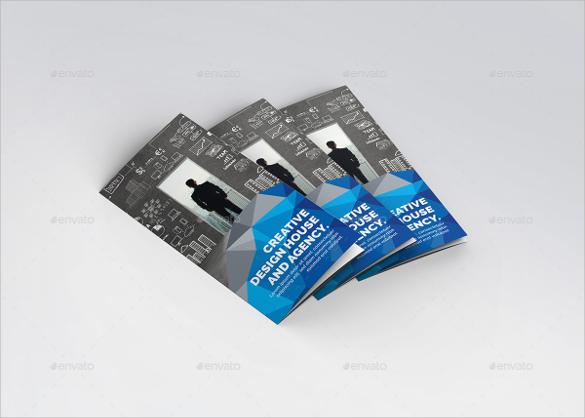 creative tri fold brochure template download