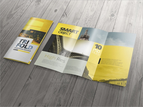 tri fold brochure template vector eps download