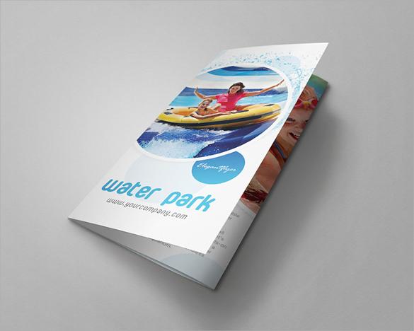 fabulous tri fold brochure template download