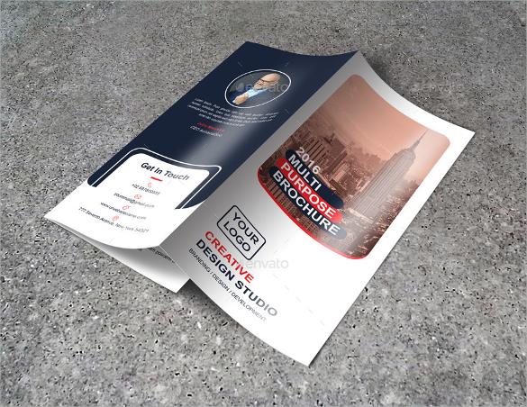 fantastic tri fold brochure template download