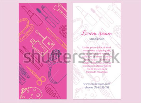 wondrous salon brochure templates download