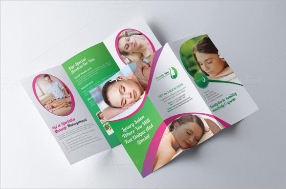 gorgeous salon brochure templates download