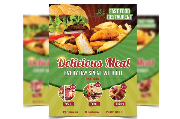 Restaurant Flyer   Download In Vector Eps Psd