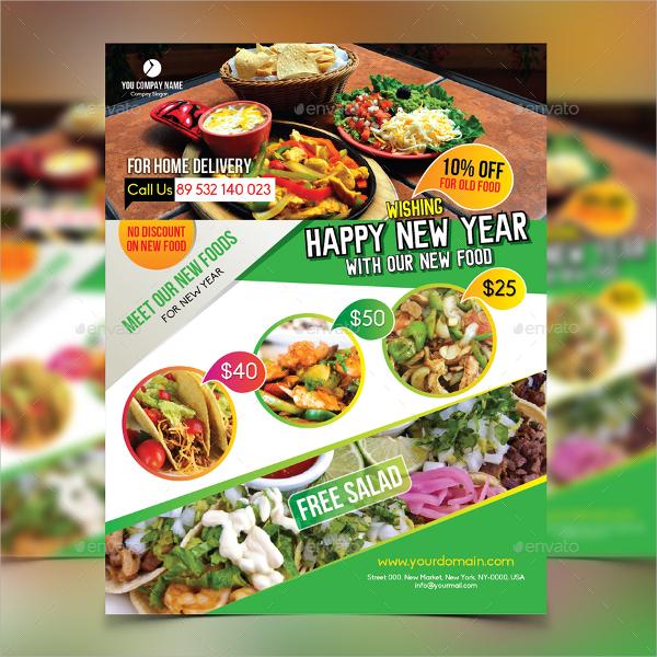 premium restaurant flyer