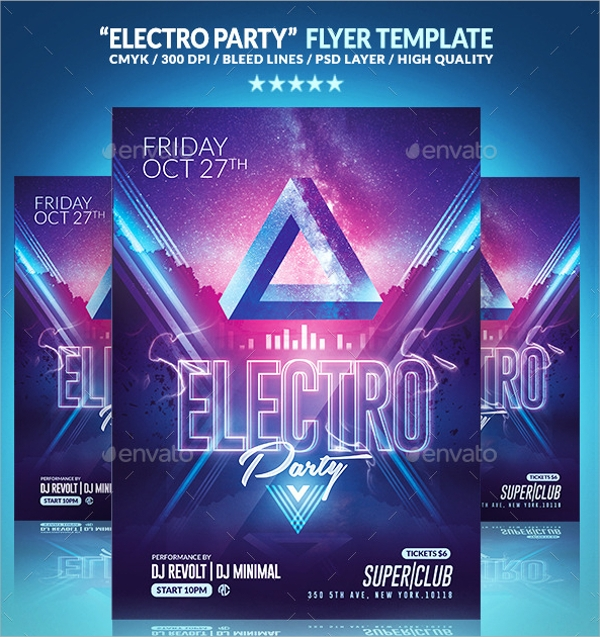 amazing electro flyer1