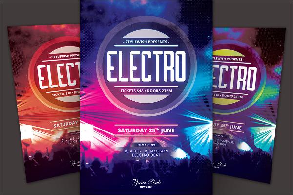 wonderful electro flyer
