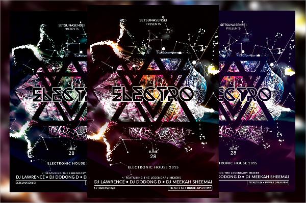 multicolor electro flyer