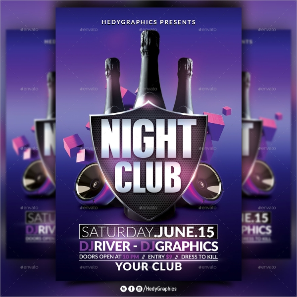 free nightclub flyer design templates - 20 club flyer templates sample templates