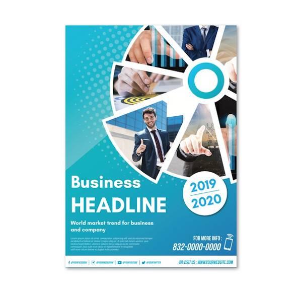 blue flyer template1