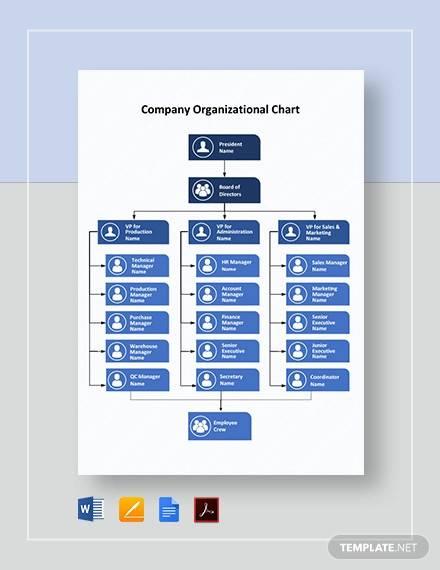 Free 13 Sample Company Organization Chart Templates In Pdf Ms Word Google Docs
