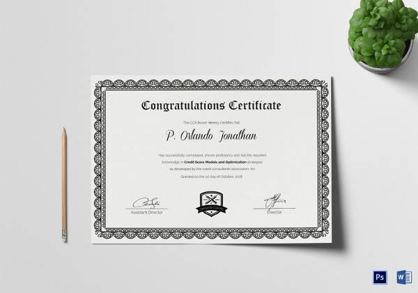 30  certificate templates