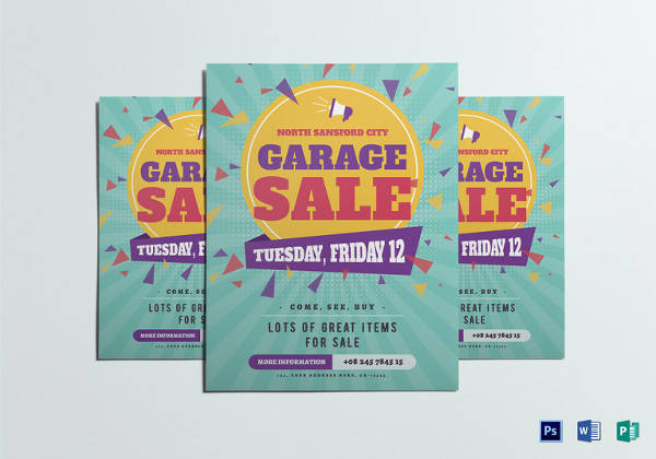 free 26  yard sale flyer templates in psd
