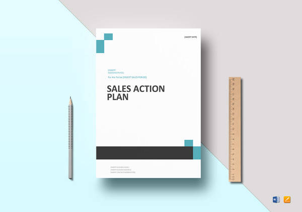 simple sales action plan template