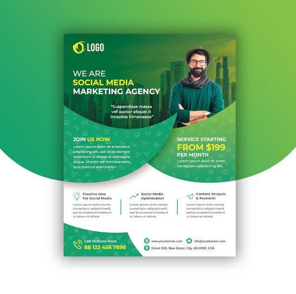social media marketing flyer1
