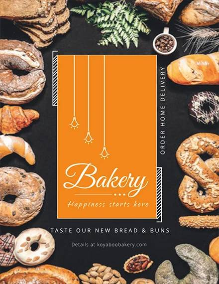 store bakery flyer