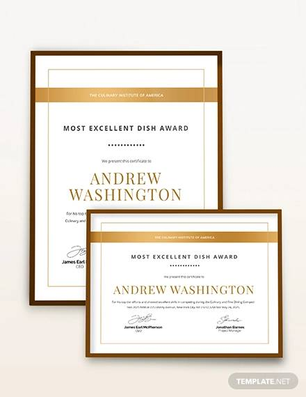 award certificate template1