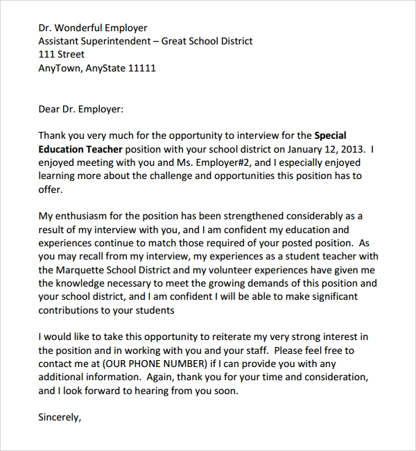 Student Teaching Thank You Letter To Cooperating Teacher Lawteched