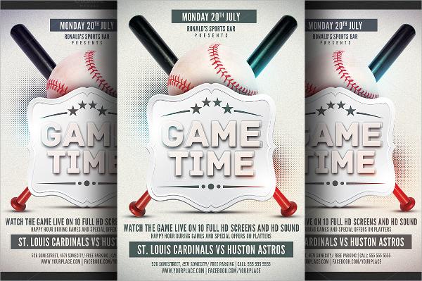 Baseball Flyer - 20+ Download In Vector EPS, PSD