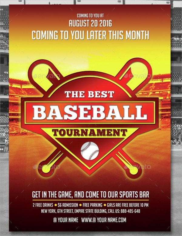 Baseball Flyer - 20+ Download In Vector EPS, PSD