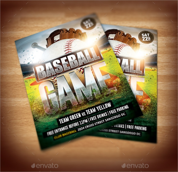 baseball brochure template.html