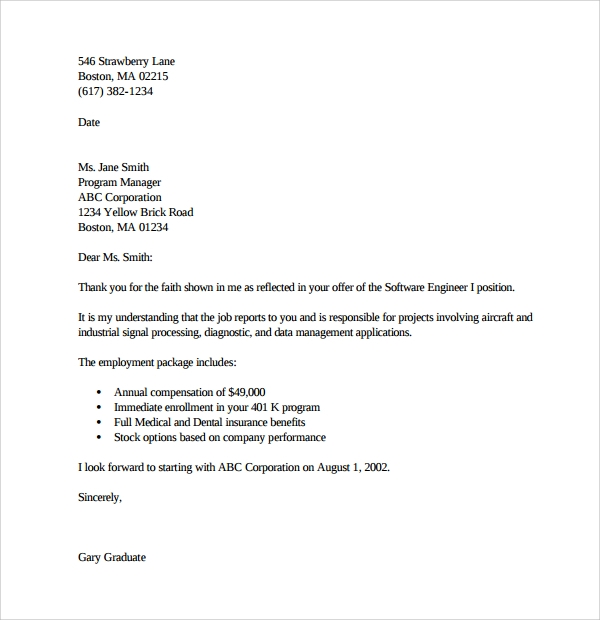 job offer acceptance job offer acceptance letter example job offers letters and good job offer acceptance letter sample pdf by kic xbtfmsft job offer