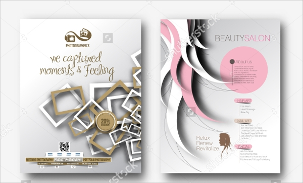 beautiful photography flyer download