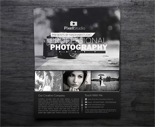 Photography Flyer   Download In Vector Eps Psd