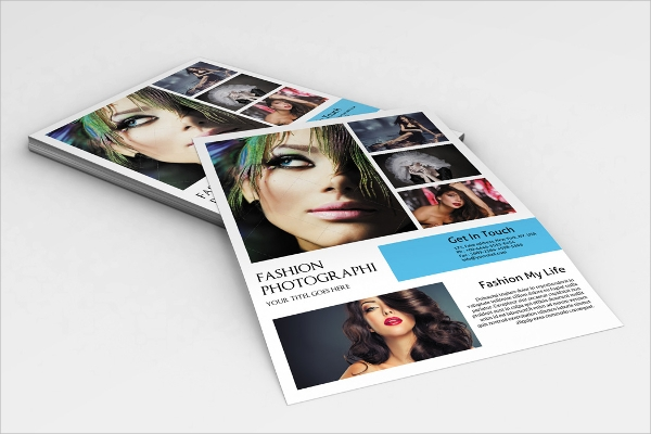 fashion photography flyers