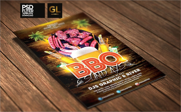 Bbq Flyer. Barbecue Flyer Template Downoad 20 Tasty Bbq Event