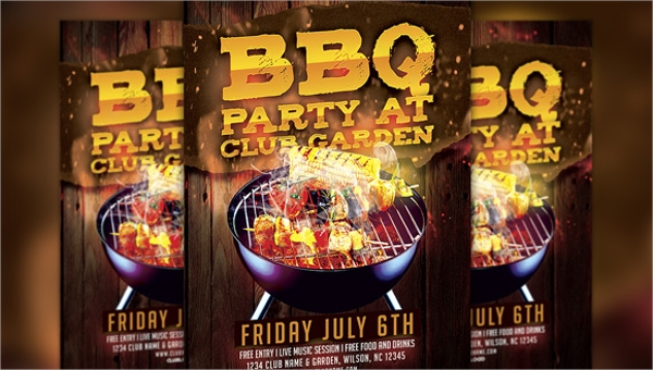 21 Bbq Flyer Templates Sample Templates