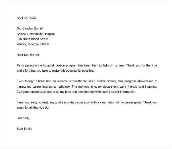 Thank You Letter To Mentor 11 Download Free Documents