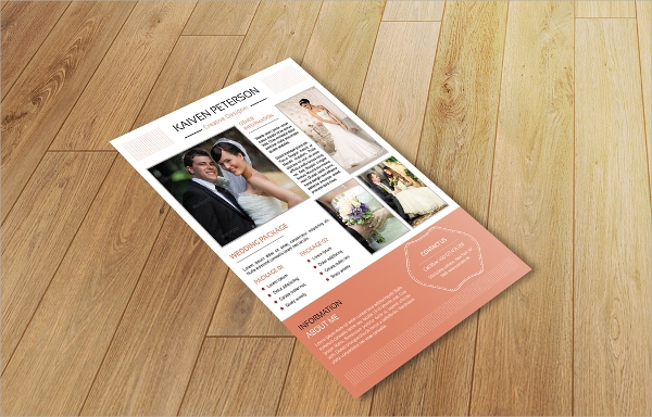 awesome wedding photography flyer