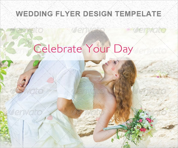 wedding flyer template free download