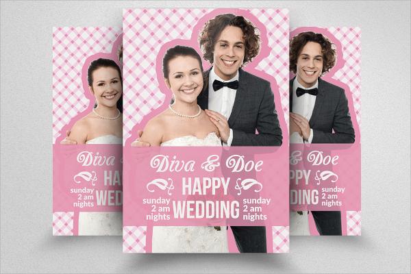 amazing wedding flyer template download