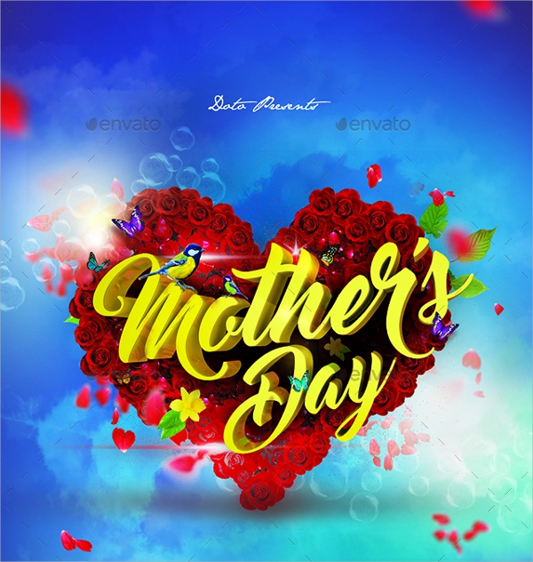 Mothers Day Flyer Template   Download In Vector Eps Psd