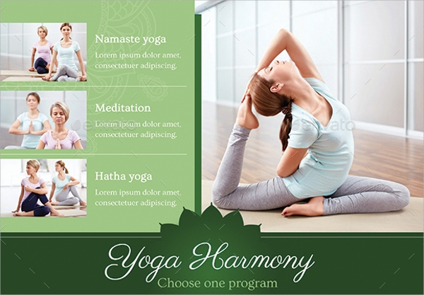 Yoga Flyer Template   Download In Vector Eps  Psd