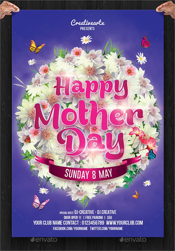 Premium Mothers Day Flyer
