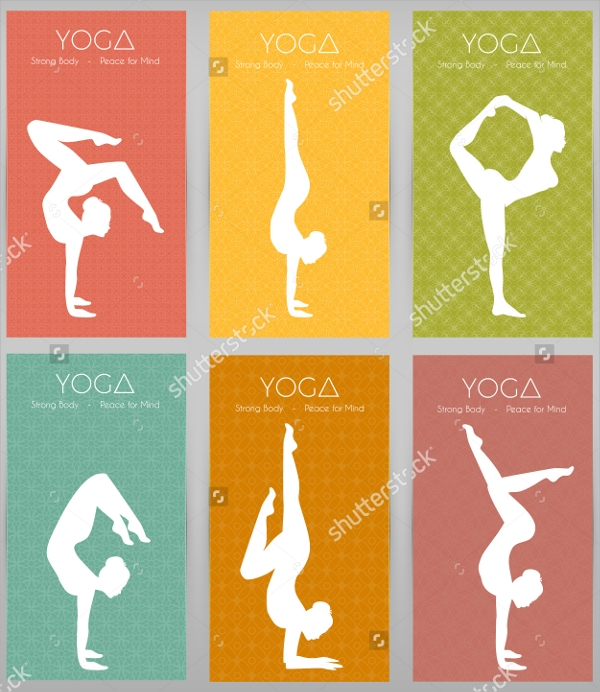 30  yoga flyer templates