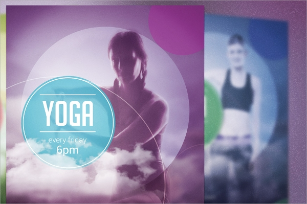 fabulous yoga flyer template download