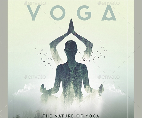 21  yoga flyer templates