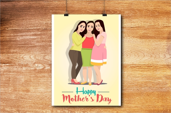 psd file format mothers day flyer
