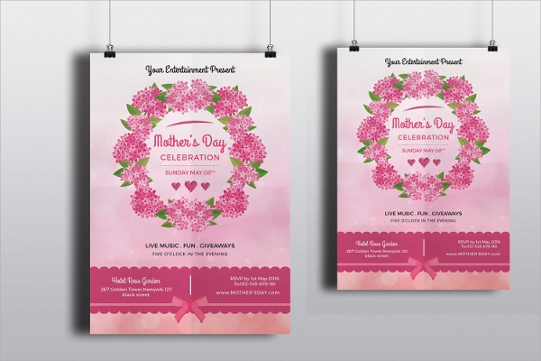 printable mothers day flyer
