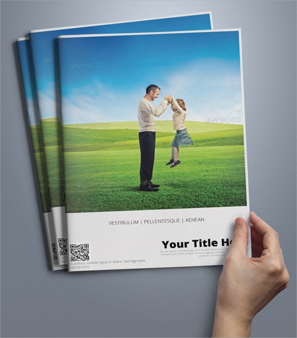 sales brochure template psd format download