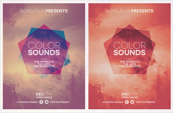 Event Flyer Template 21 Download in Vector EPS PSD – Event Flyer Templates