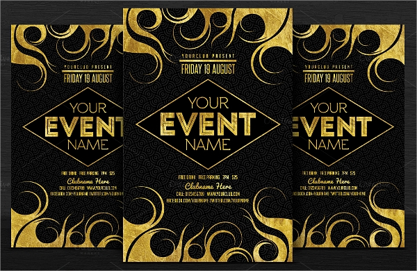 spectacular event flyer templates download