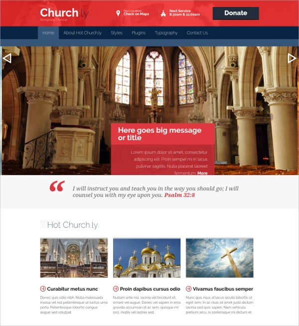 30  Church Website Themes   Templates In 2016 Sample Templates CP47Rk8g